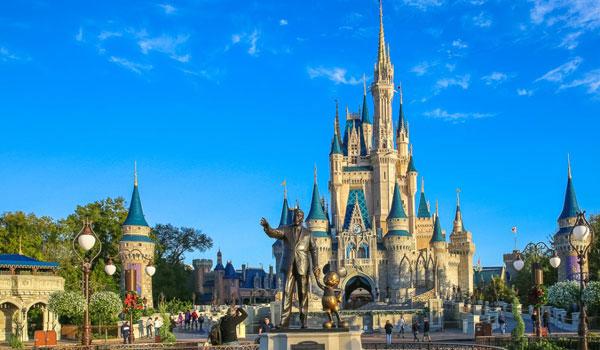 Zamek Kopciuszka Disney