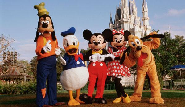 Postacie z Disney World