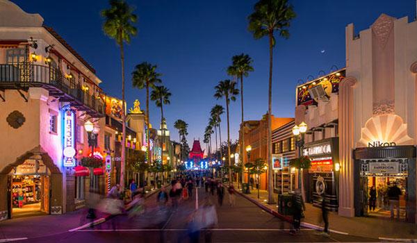 Hollywood Boulevard Disney