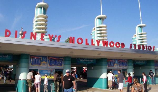 Hollywood Studios wejście
