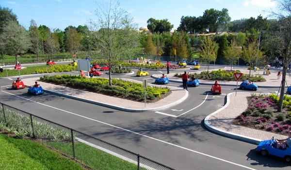 Legoland nauka jazdy