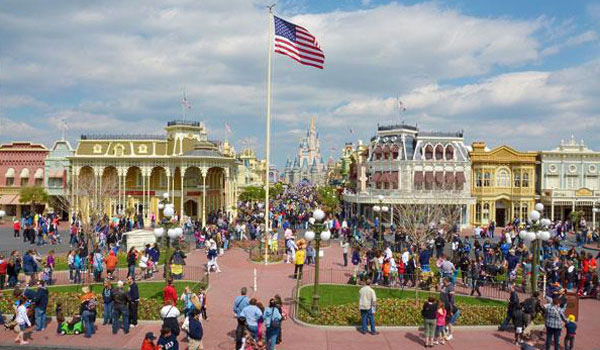 Main Street Disney World