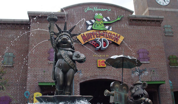 Muppety w Disney World