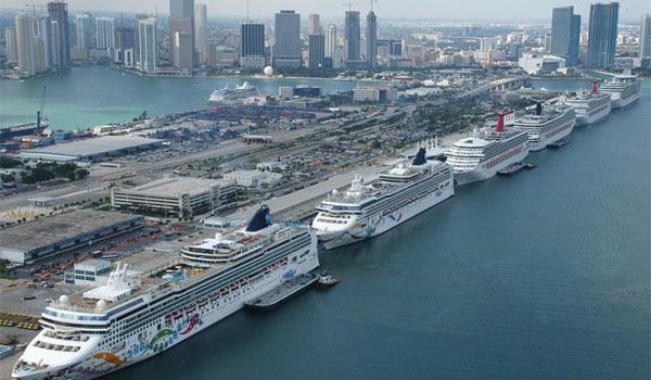 Miami statki rejsowe
