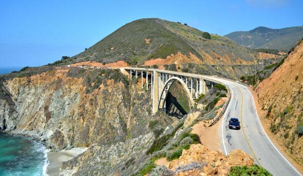 Bixby Bridge Kalifornia