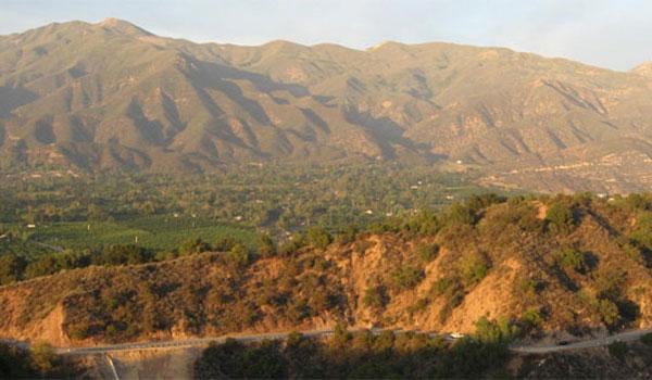 Kalifornia góry