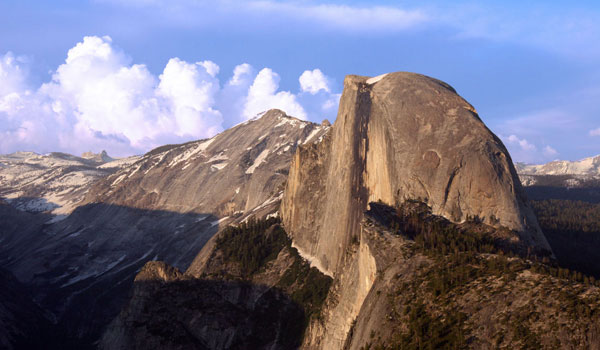 widok z Half Dome