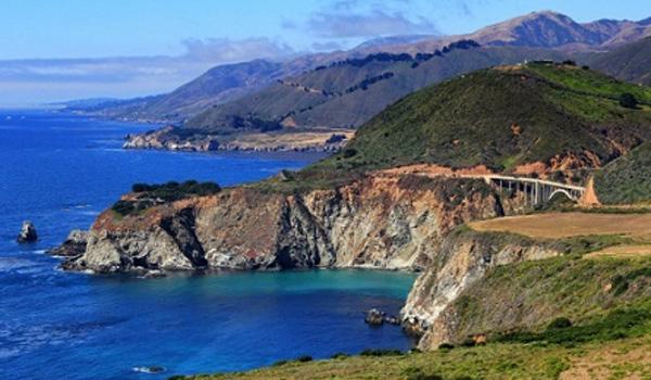 atrakcje Kalifornii US Route 1