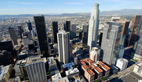 wieżowce Los Angeles