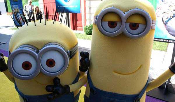 Minionki w Universal Hollywood