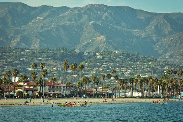 plaża w Santa Barbara