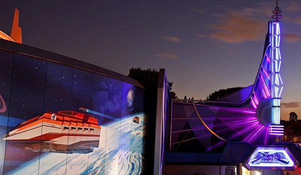 Tomorrowland Disneyland Los Angeles