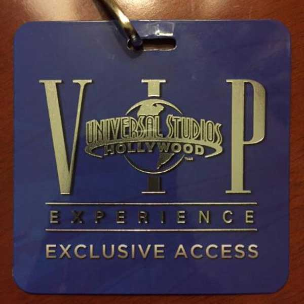 VIP Experience w Universal Hollywood