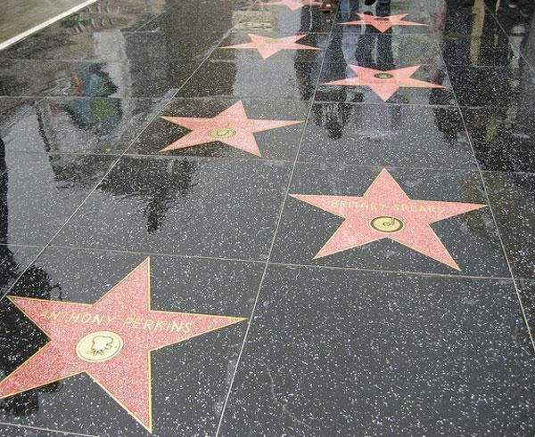aleja gwiazd Hollywood
