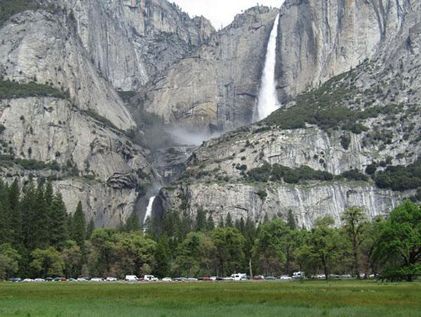 Wodospady Yosemite