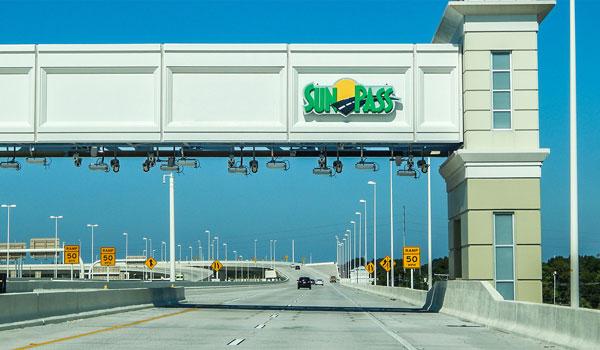 SunPass autostrada Floryda