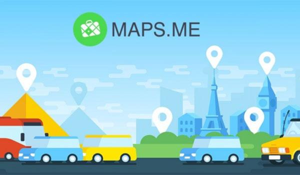 Maps Me aplikacja