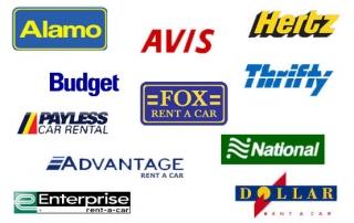 wypożyczalnie samochodów USA