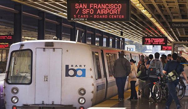 pociąg w San Francisco