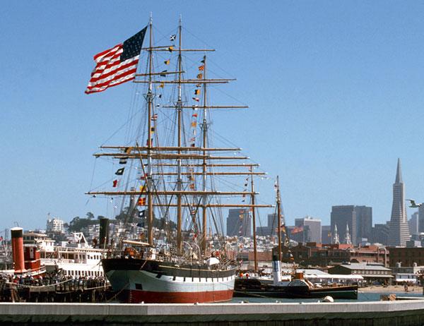 statek muzeum San Francisco