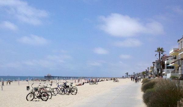 ścieżka rowerowa Santa Monica