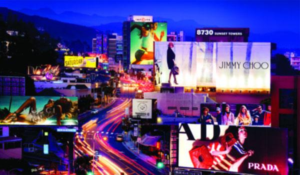 Sunset Strip nocą