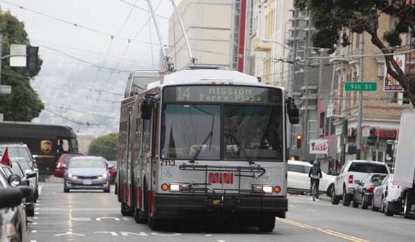 transport miejski San Francisco