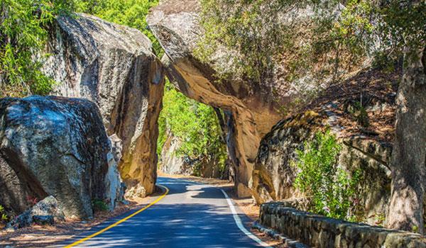 wjazd do Yosemite