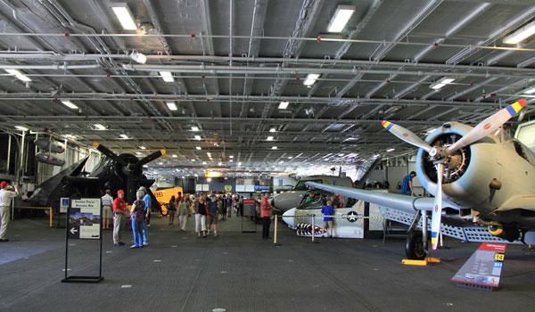 hangar deck