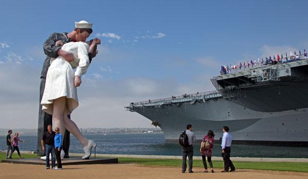rzeźba w San Diego