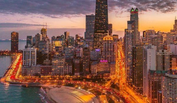 Chicago po zmroku