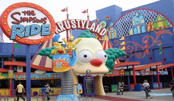 The Simpsons Universal Florida