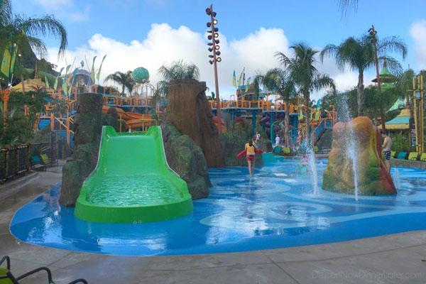 plaz zabaw dla dzieci Volcano Bay