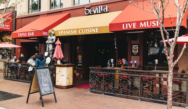 Cafe Sevilla Gaslamp Quarter