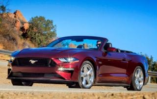 Mustang wynajem LAX