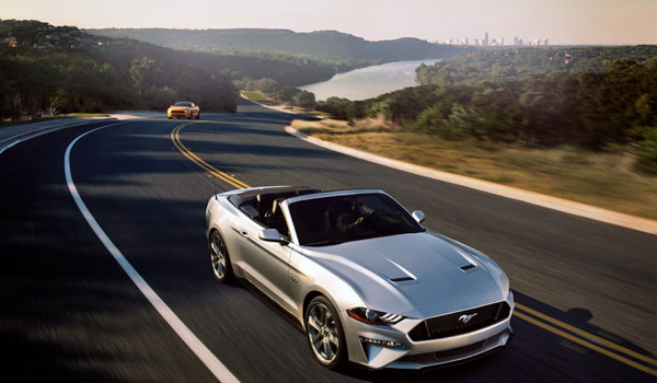 Ford Mustang kabriolet Miami