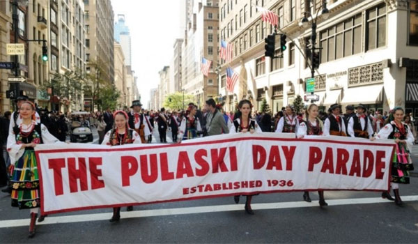 Pulaski Day parada