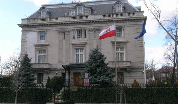 polskie placówki dyplomatyczne w USA ambasada