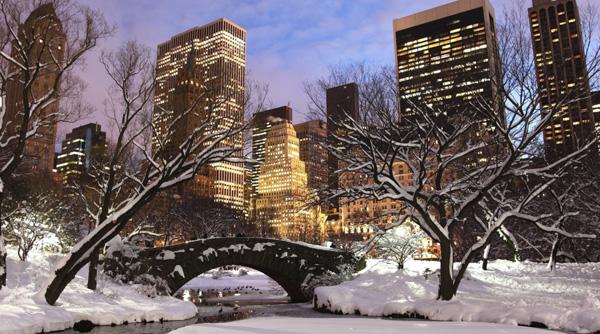 atrakcje Nowego Jorku zimą