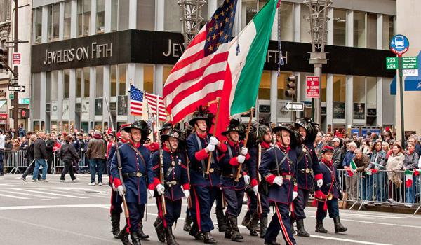 Columbus Day parada Nowy Jork