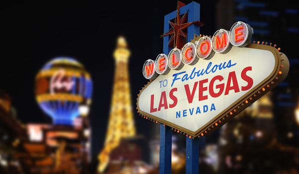 znak Las Vegas