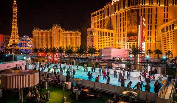 lodowisko w Las Vegas