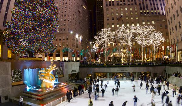 choinka przy Rockefeller Center