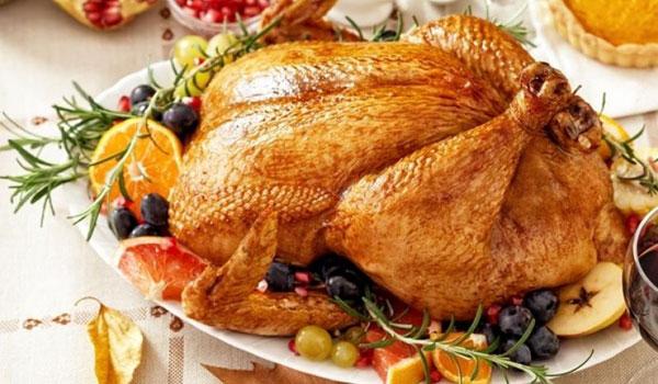 indyk na Święto Dziękczynienia