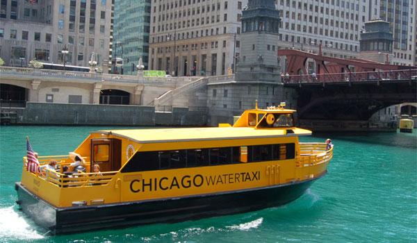 taksówki wodne Chicago