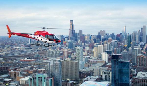 loty helikopterem w Chicago