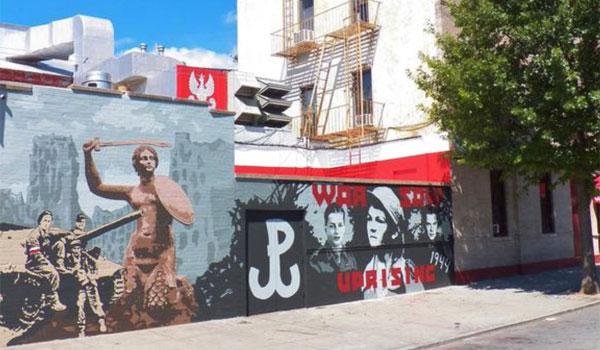 mural Powstancow Warszawskich Greenpoint