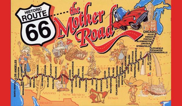 co zobaczyć na trasie Route 66 mapa
