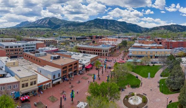 Boulder miasto w Kolorado