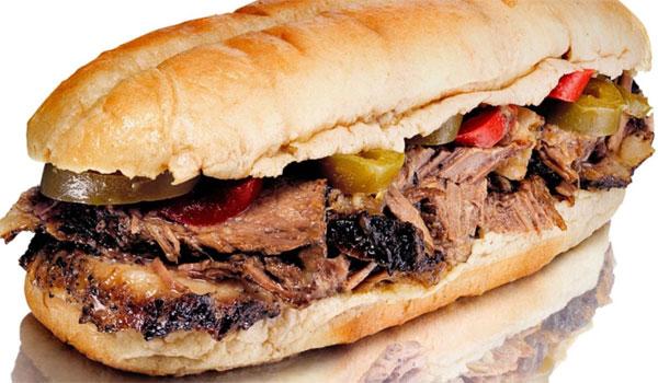 Italian beef Chicago